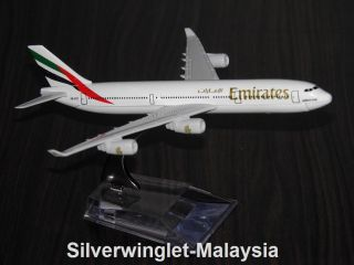 Emirates Airlines Airbus A340 Metal Diecast Scale Model Airplane