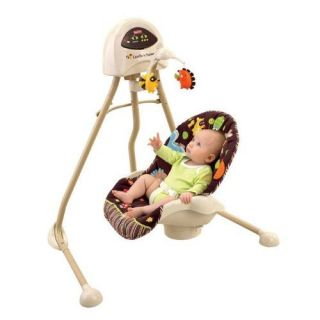 Fisher Price 2n1 Musical Cradle Swing Woodland Animals