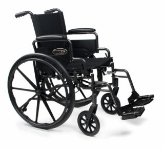 Everest Jennings Traveler L4 Wheelchair 20 x 18 FBA