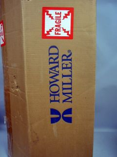 Howard Miller Everett Chiming Wall Clock #625 253 In Original Box