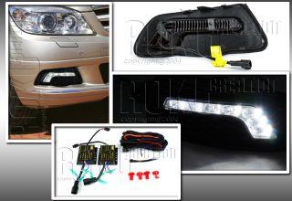 2008 2011 Benz W204 S204 Luxury LED Fog Lights DRL Daytime Running