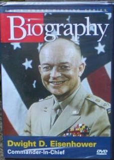 DWIGHT D. EISENHOWER~A&E Biography DVD~President~West Point~WWII