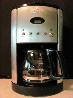 Maker CM500 Silver Clean EUC 12 Cups Drip Coffee Espresso Combo