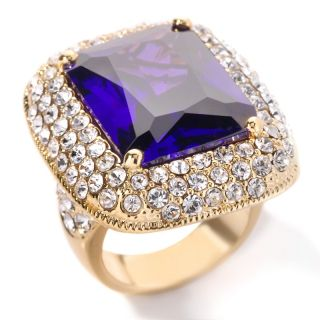 Justine Simmons Jewelry Tanzanite Color Crystal Ring