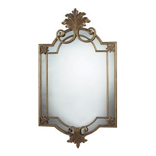 Home Home Décor Art & Wall Décor Mirrors 60 Gretna Gold Leaf Mirror