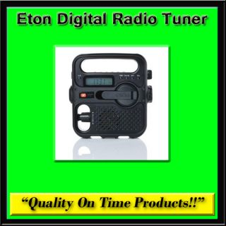 New Eton Digital Radio Tuner Weather USB Charger AM FM Band Reciever