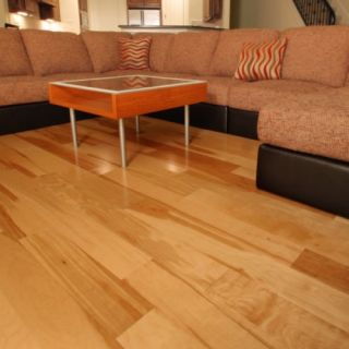 Handscraped hickory hardwood flooring wood floor for Hardwood floors popping