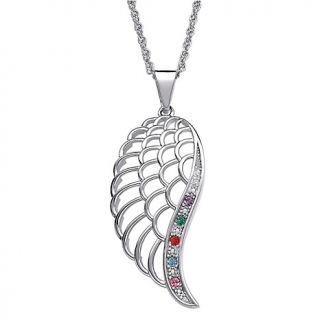 angel wing pendant with diamond accent rating 1 $ 63 00 s h