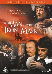 dvd information title the man in the iron mask year