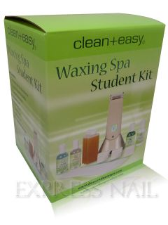 Clean + Easy Waxing Spa Student Kit   Portable Roll On Wax Warmer Kit