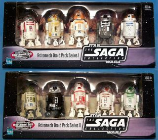 Star Wars Entertainment Earth EE Exclusive Astromech Droid Set 1 & 2