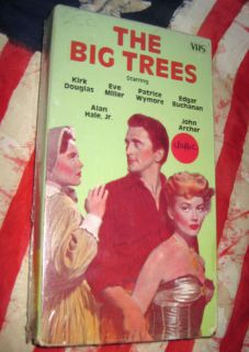 The Big Trees Kirk Douglas Eve Miller New VHS