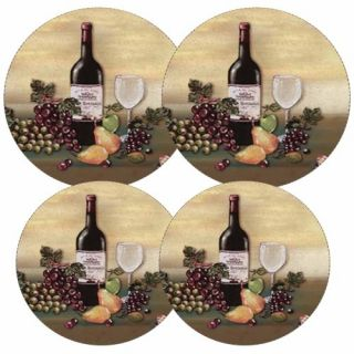 Features of Reston Lloyd Electric Stove Burner Covers, Set of 4, Wine