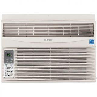 Sharp 6,000 BTU Window Mounted Air Conditioner with Rest Easy Remote
