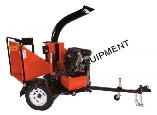 Bearcat CH8993H 8 Hyd Feed Electric Start Turntable Wood Chipper