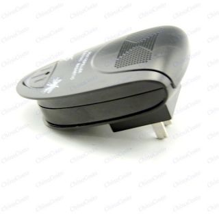 Electronic Mosquito Bug Mouse Pest Rodents Repeller Repellent black
