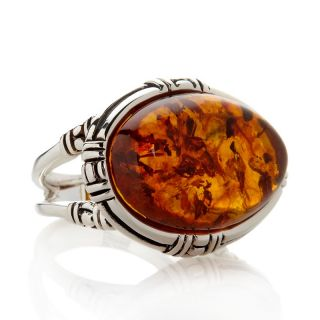 Jewelry Rings Gemstone Studio Barse Amber Sterling Silver Ring