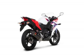 02 12 Honda CBR150R Akrapovic Racing Full Exhaust Carbon Fiber