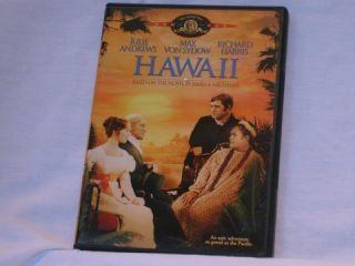 Hawaii Julie Andrews Max Von Sydow Richard Harris DVD