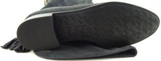 Enzo Angiolini Randies Dark Grey Suede Womens Designer Shoes Tall