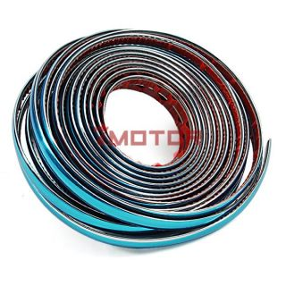 5M x 20mm Chrome Exterior Moulding Trim Strips Door Window Vent Grille