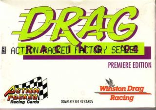 1994 Action Packed NHRA Drag Racing Set John Force
