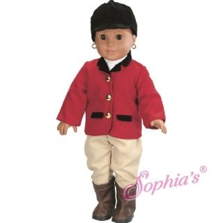Riding Horse Outfit Doll Clothes Fits 18 American Girl Doll Brand New