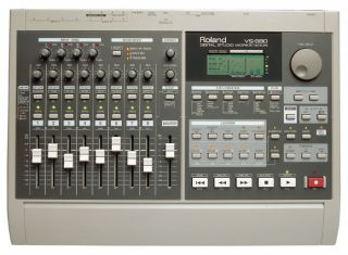 VS 880 8 MULTI TRACK HARD DRIVE RECORDING STUDIO WORKSTATION & VS8F 1