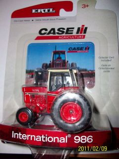 Ertl 1 64 Farm Toy Tractor 986 Case IH International