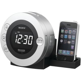 111 7612 sony cd clock radio with ipod and iphone dock rating be the