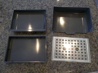 Starbucks Coffee Espresso Maker Machine Barista Drip Tray Pan Set