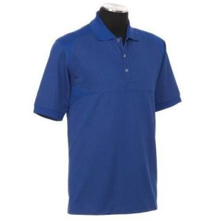 Callaway Dry Comfort Short Sleeve Chev Jacquarded Polo Shirt Large