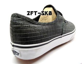 Vans Authentic Ellen Plaid Black Mens Skate Skateboard BMX Casual