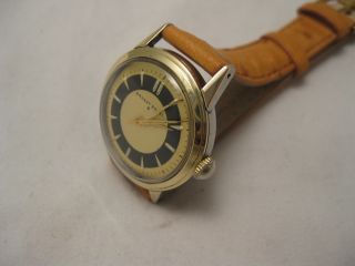 The Most Amazing 14k Gold Steel Ernest Borel Dinner Watch