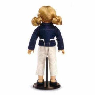 Wooden Doll Stand Large Adjustable for 15 18 American Girl Doll