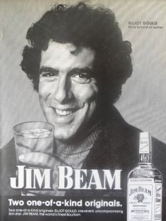 Jim Beam Bourbon Whiskey Elliot Gould New Breed Hollywood Actor