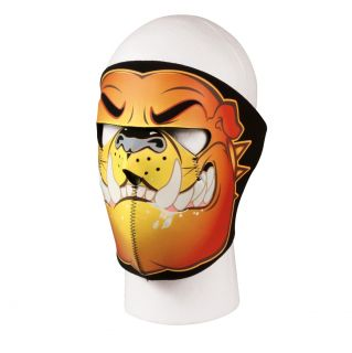 Bulldog Neoprene Ski Mask, Biker Full Face Mask For Cold Windy Weather
