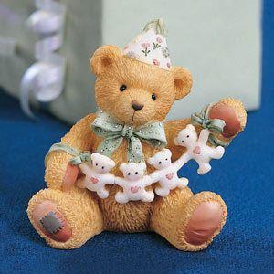 Cherished Teddies Birthday Bear Age 4