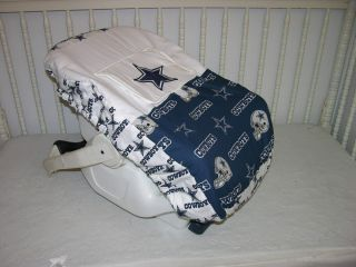 New Car Seat Carrier Cover M w Dallas Cowboys Fabric