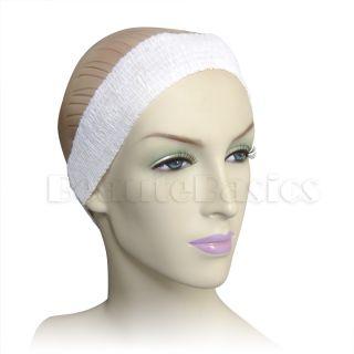 Disposable Elastic Spa Headband Facial Hair Band 50 Ct AH1054