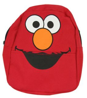 Elmo Face Sesame Street Mini Backpack