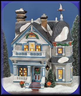 Elmwood House New Department Dept 56 Snow Village D56 SV