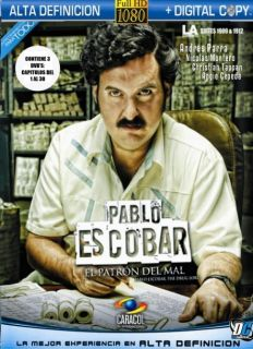 Pablo Escobar El Patron Del Mal Vol.1 , 3DVDs Chapter 1 to 30