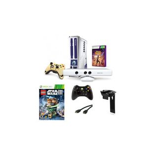 Microsoft® Xbox 360 Kinect 320 GB Console Star Wars Game Bundle