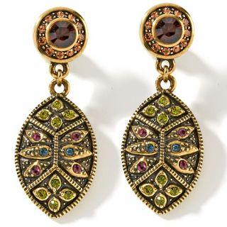 153 506 heidi daus heidi daus byzantine beauty crystal drop earrings