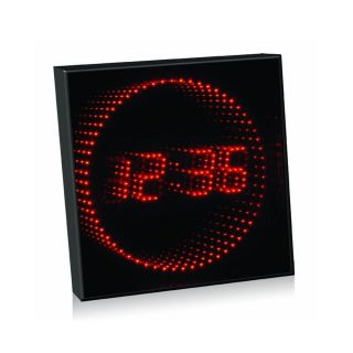 Fascinations 3D Red Light LED Animated Digital Clock