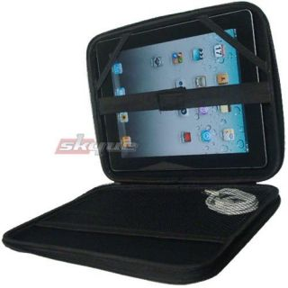 Hard Shell EVA Case (Black) For Ipad 2 32gb 64bgb Zipper Pouch Cover