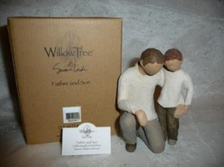 Willow Tree Father Son Angel Figurine 26030 Fathers Day Birthday New