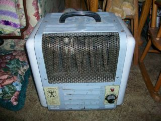 RARE Vintage Titan 220V Fan Forced Shop Heater Man Cave Gear
