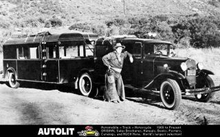 1930 Ford Model AA Truck Eugene Pallette Factory Photo
